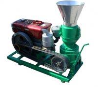KSP250柴油机离合式饲料颗粒机